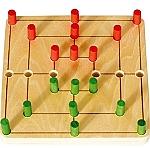 Molen mini-spel van hout