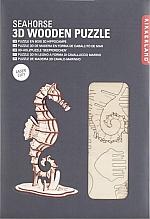 Zeepaardje Houten 3D Puzzel Kikkerland