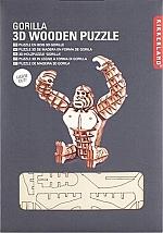 Gorilla Houten 3D Puzzel Kikkerland