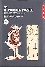 Uil Houten 3D Puzzel Kikkerland