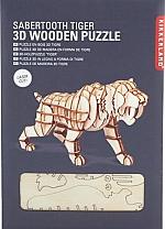Tijger houten 3D puzzel Kikkerland