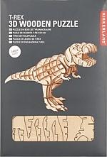 T-Rex Houten 3D Puzzel Kikkerland