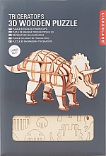 Triceratops Houten 3D Puzzel Kikkerland