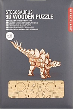 Stegosaurus Houten 3D Puzzel Kikkerland