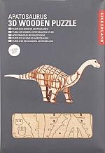 Apatosaurus - Houten 3D Puzzel Kikkerland
