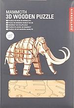 Mammoet Houten 3D Puzzel Kikkerland