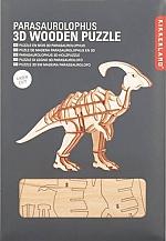 Parasaurolophus Houten 3D Puzzel