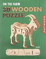 Geit Houten 3D Puzzel Kikkerland