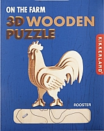 Haan Houten 3D Puzzel Kikkerland