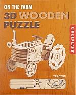 Tractor - Houten 3D Puzzel Kikkerland