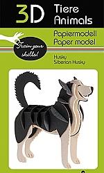 Husky - 3D karton model
