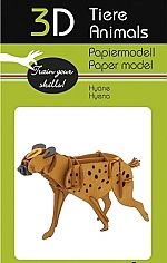 Hyena - 3D karton model