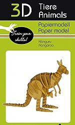 Kangoeroe - 3D karton model