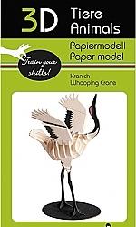 Kraanvogel - 3D karton model