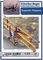 Sopwith Triplane 1:24