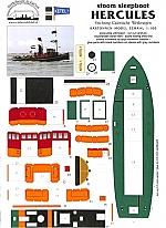 Hercules stoom sleepboot 1:100