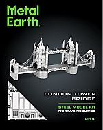 London Tower Bridge Metal Earth