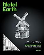 Windmill Metal Earth