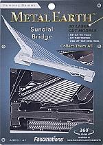 Sundial Bridge Metal Earth