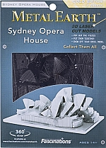 Sydney Opera House Metal Earth