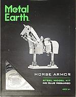 Horse armor metal earth