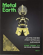 Japanese Toyotomi Armor Metal Earth