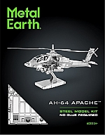 AH-64 Apache Metal Earth