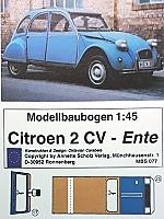 Citroën 2 CV (eend) 1:45