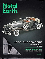 1935 Duesenberg Model J Metal Earth