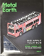 Big Apple Tour Bus Metal Earth