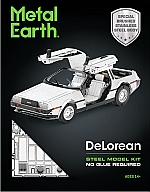 DeLorean Metal earth