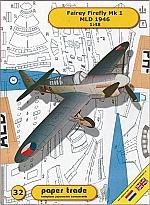 Fairey Firefly Mk1, Kon. Marine 1:48