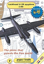 Lockheed U-2R spyplane 1:50