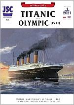 Titanic or Olympic 1:400