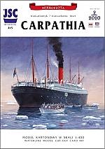 Carpathia met rompdelen set 1:400