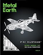 Mustang P-51 Metal Earth