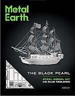 Pirate Ship Black Pearl Metal Earth