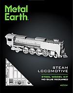 Stoomlocomotief Metal Earth