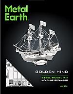 Golden Hind Metal Earth