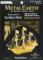 Golden Hind (Gold) Metal Earth