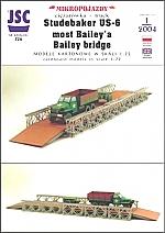 Studebaker US-6 en Bailey bridge 1:72
