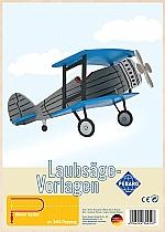 Figuurzaag voorbeeld vliegtuig