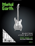 Electric Lead Guitar Metal Earth