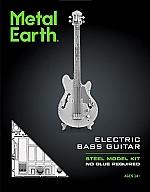 Electric Bass Guitar Metal Earth