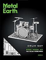 Drum Set Metal Earth
