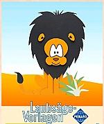 Figuurzaag voorbeeld Leeuw