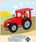 Figuurzaag voorbeeld traktor