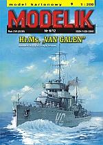 HR.Ms. Van Galen schaal 1:200