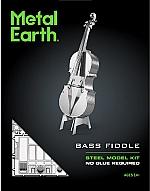 Bass Fiddle - Metal Earth