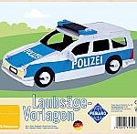Figuurzaag voorbeeld politieauto